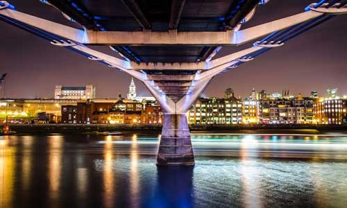 architecture project category Millenium Bridge
